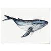 중형 패브릭 포스터 F275 동물 북유럽 그림 액자 고래 ver3