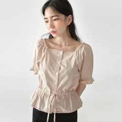 may lovely string blouse