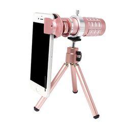 망원렌즈 대포 스마트폰 셀카렌즈(12배)