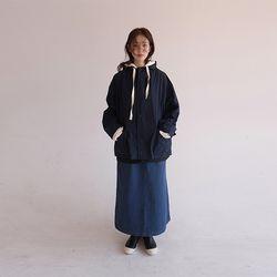 zip-up hood jacket(2colors)