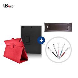 UB 갤럭시노트 10.1  (E230) 심플 레더 케이스+터치펜+펜파우치