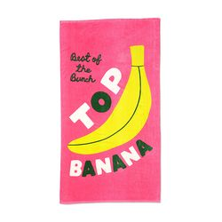 BEACH PLEASE GIANT TOWEL - TOP BANANA