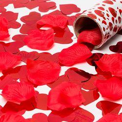 웨딩폭죽 꽃잎 은박하트