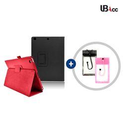 UB 아이패드 6세대 2018 (A1893) 심플 레더 케이스+방수팩