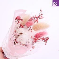 프리저브드플라워 미니 꽃다발 로맨틱핑크 꽃선물
