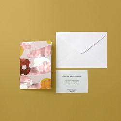 BIG GIFT CARD 03 꽃 먹는 잠자리