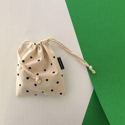 아기 도트 파우치(baby dot pouch-small