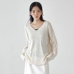 bonis v-neck knit