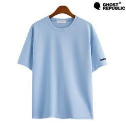 6Color 베이직 오버핏 리버플 반팔 티셔츠 GT-3147