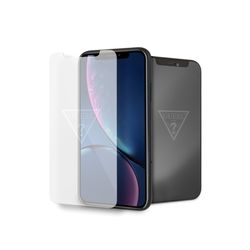 GUESS 게스 로고 아이폰강화유리필름 Iphone XR