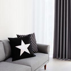 트윙클 암막 (gray)