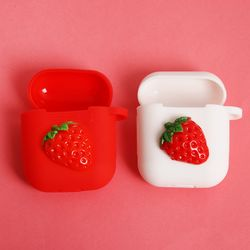 딸기 컵케익 에어팟케이스(키링별도구매)