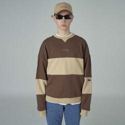Trisection sweatshirt-brown