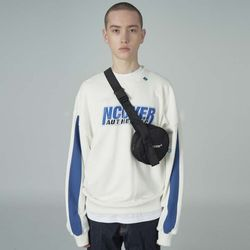 Authentic center sweatshirt-white