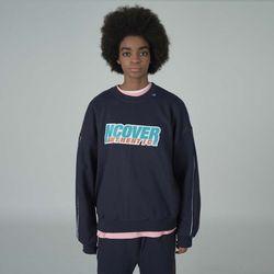 Authentic center sweatshirt-navy
