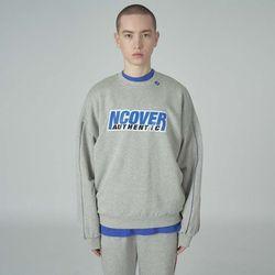 Authentic center sweatshirt-gray