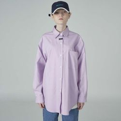 Neck cursor point shirt-lightpurple