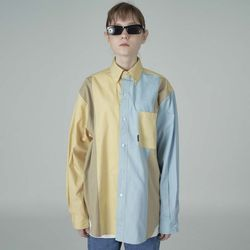 [예약판매 4/24 발송] Combination shirt-yellow