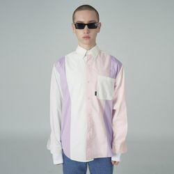 [예약판매 4/24 발송] Combination shirt-white