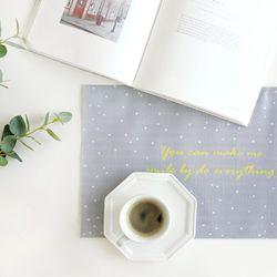 라임라잇 쥬땜므(스노우)-방수테이블매트