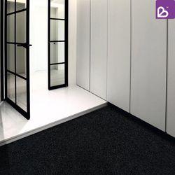 체리비 DIY 코일매트 블랙 베란다매트 뒷면 오픈형