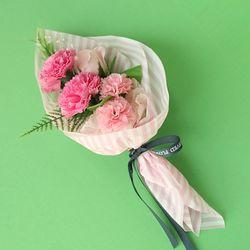 1AM 카네이션 비누 꽃 미니 꽃다발