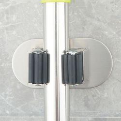 SUS 멀티플 싱글 홀더 다용도 스텐 밀대 걸이 1구형