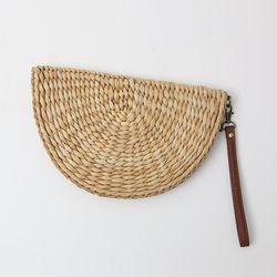 Rattan Clutch Bag
