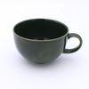 NEMO 달소금 큰머그컵 도자기 카푸치노 빅 라떼잔-딥그린