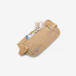헤이즈 해킹방지-복대형지갑 베이지