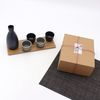 NEMO 달소금 도자기 무광 블랙 그레이 도쿠리 선물세트(5P)