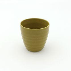 NEMO 달소금 예쁜 도자기잔 17색 기획물컵-옐로우그린