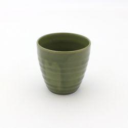NEMO 달소금 예쁜 도자기잔 17색 기획물컵-바다그린