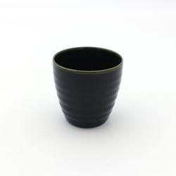 NEMO 달소금 예쁜 도자기잔 17색 기획물컵-딥그린