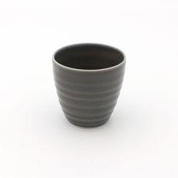 NEMO 달소금 예쁜 도자기잔 17색 기획물컵-다크그레이
