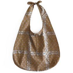 brown ethnic bag