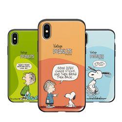 [P]스누피 카툰 슬라이드 아이폰8플러스케이스