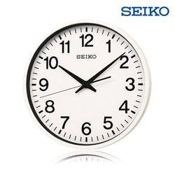 [세이코공식스토어] QXZ001W SEIKO GPS 위성벽시계 본사직영