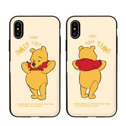 [T]디즈니 푸우 비하인드 도어범퍼.아이폰7(8)플러스공용