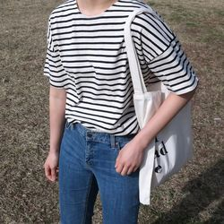 Gentle stripe tee