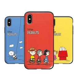 [P]스누피 심플 슬라이드 아이폰6케이스