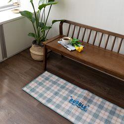 블루버블팝 45x130cm 발매트 욕실매트