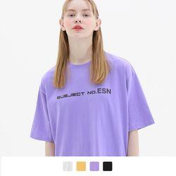 서브젝트 포인트 반팔 티셔츠 (4color)