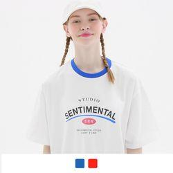 센티멘탈 반팔 티셔츠 (2color)