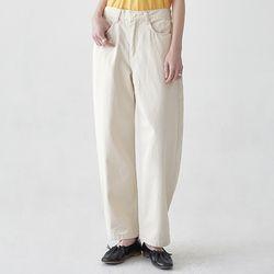 hems button cotton pants