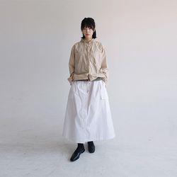 string hood jacket (2colors)