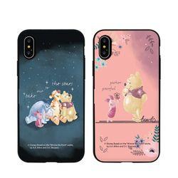 [T]디즈니 푸우 유노이아 도어범퍼.아이폰7(8)플러스공용