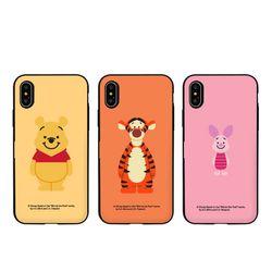 [T]디즈니 푸우 해피데이 도어범퍼.아이폰7(8)플러스공용