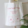 I like sweet things eco bag