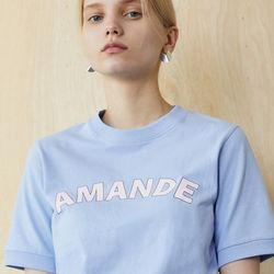 AMANDE CROP T (SKYBLUE)